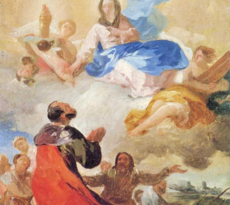 Aparicion Virgen del Pilar