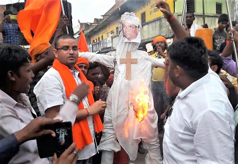 La violencia contra los cristianos se dispara en el estado de la India más poblado 1