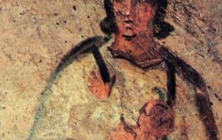 La primera imagen mariana ¿está en las catacumbas de Santa Priscilla? 8