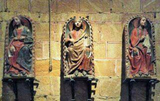 Santos Vicente, Sabina y Cristeta, mártires siglo IV - 27 de Octubre 1