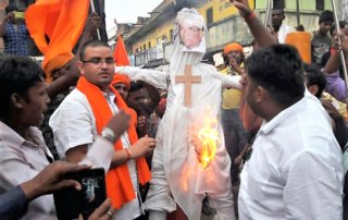 La violencia contra los cristianos se dispara en el estado de la India más poblado 9