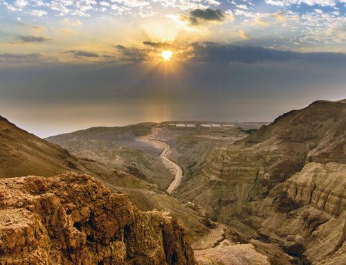 El desierto de Judea – Donde Jesús pasó 40 días de penitencia