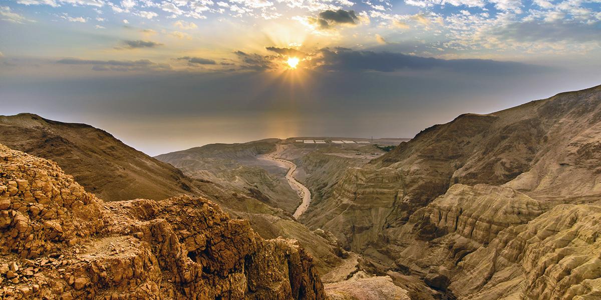 El desierto de Judea - Donde Jesús pasó 40 días de penitencia 1