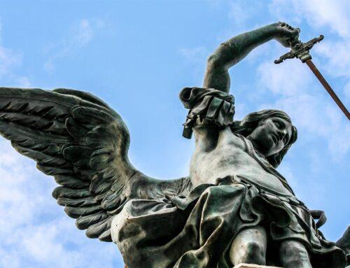 La curiosa historia de la estatua del ángel que frenó la peste en Roma