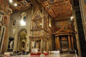 Sensacional visita virtual a la Basílica de San Juan de Letrán - Roma 2