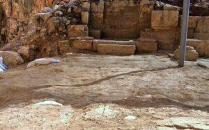 Descubren en Cesarea de Filipo una iglesia que celebra el milagro de la hemorroísa 4