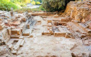 Descubren en Cesarea de Filipo una iglesia que celebra el milagro de la hemorroísa 2