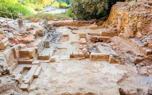 Descubren en Cesarea de Filipo una iglesia que celebra el milagro de la hemorroísa 1