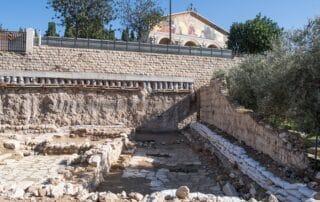 Un antiguo baño ritual del tiempo de Jesús descubierto en Getsemaní 1