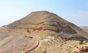Descubierta la Sala del trono del rey Herodes donde 'Salomé bailó'- Mar Muerto 1