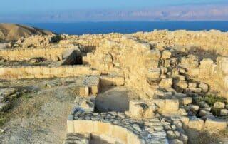 Descubierta la Sala del trono del rey Herodes donde 'Salomé bailó'- Mar Muerto 5