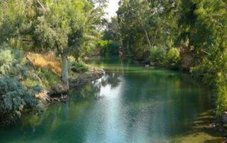 El Río Jordán - lugar del Bautismo de Jesús 4