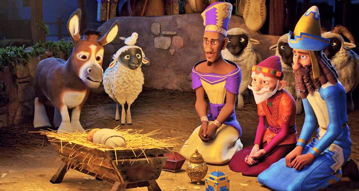 """""""The Star"""" - Deliciosa película sobre los Reyes Magos, sus camellos y la Estrella 1"""