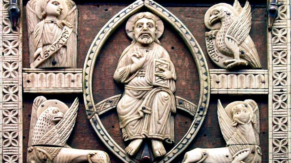 ¿Por qué a los 4 evangelistas se les representan como a un ángel, un león, un buey y unáguila? 1