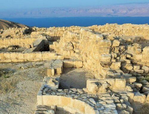 Descubierta la Sala del trono del rey Herodes donde 'Salomé bailó'– Mar Muerto