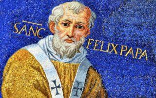 San Félix I, Papa (años 269-274) - 30 diciembre 1