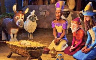 """""""The Star"""" - Deliciosa película sobre los Reyes Magos, sus camellos y la Estrella 2"""