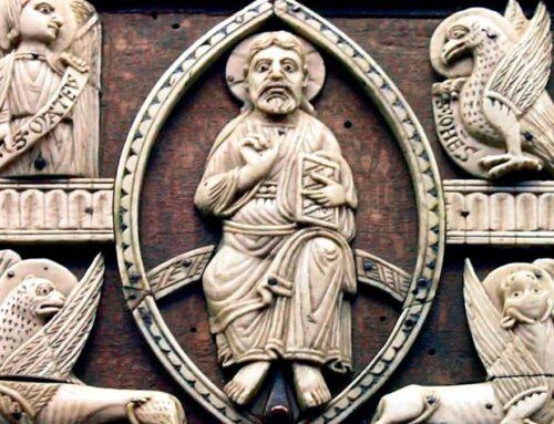¿Por qué a los 4 evangelistas se les representan como a un ángel, un león, un buey y unáguila?