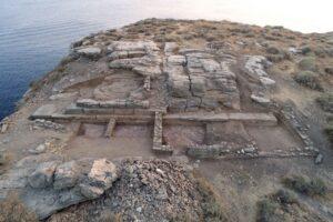 Encuentran una iglesia bizantina en un islote frente a Citnos en las islas Cícladas 2