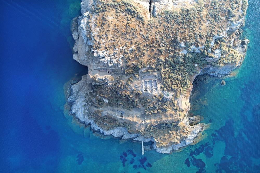 Encuentran una iglesia bizantina en un islote frente a Citnos en las islas Cícladas 1