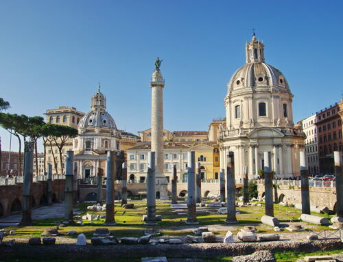 Roma concluye excavaciones del Foro de Trajano – La octava maravilla del mundo
