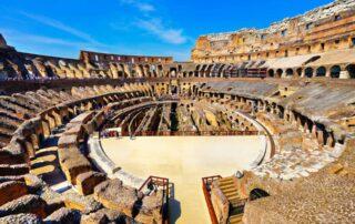 Anuncian la reconstrucción de la arena del Coliseo romano 2