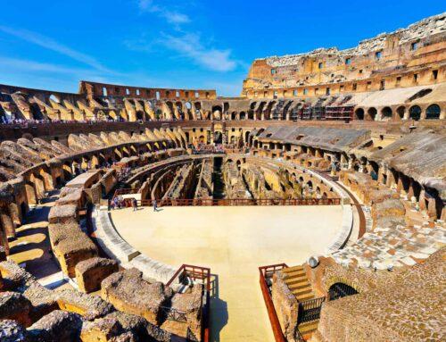 Anuncian la reconstrucción de la arena del Coliseo romano