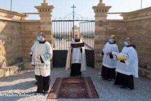 """""""De campo de minas a lugar de oración"""" - celebración del bautismo de Jesús en el Jordán 2"""