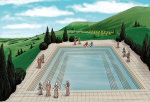 La piscina de Siloé, Jerusalén - Donde Jesús sanó al ciego 3