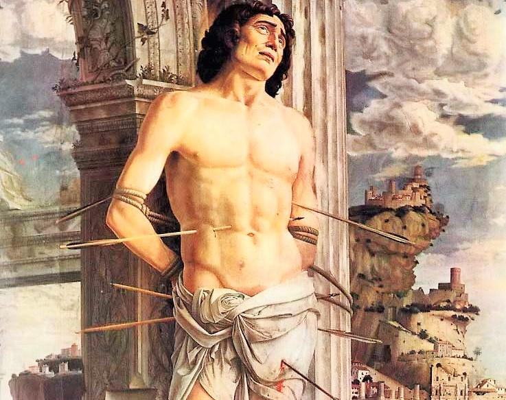 San Sebastián, soldado romano y Jefe de la Guardia Pretoriana - 20 enero 1
