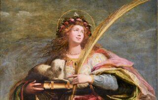 Santa Inés de Roma, mártir adolescente - 21 enero 1