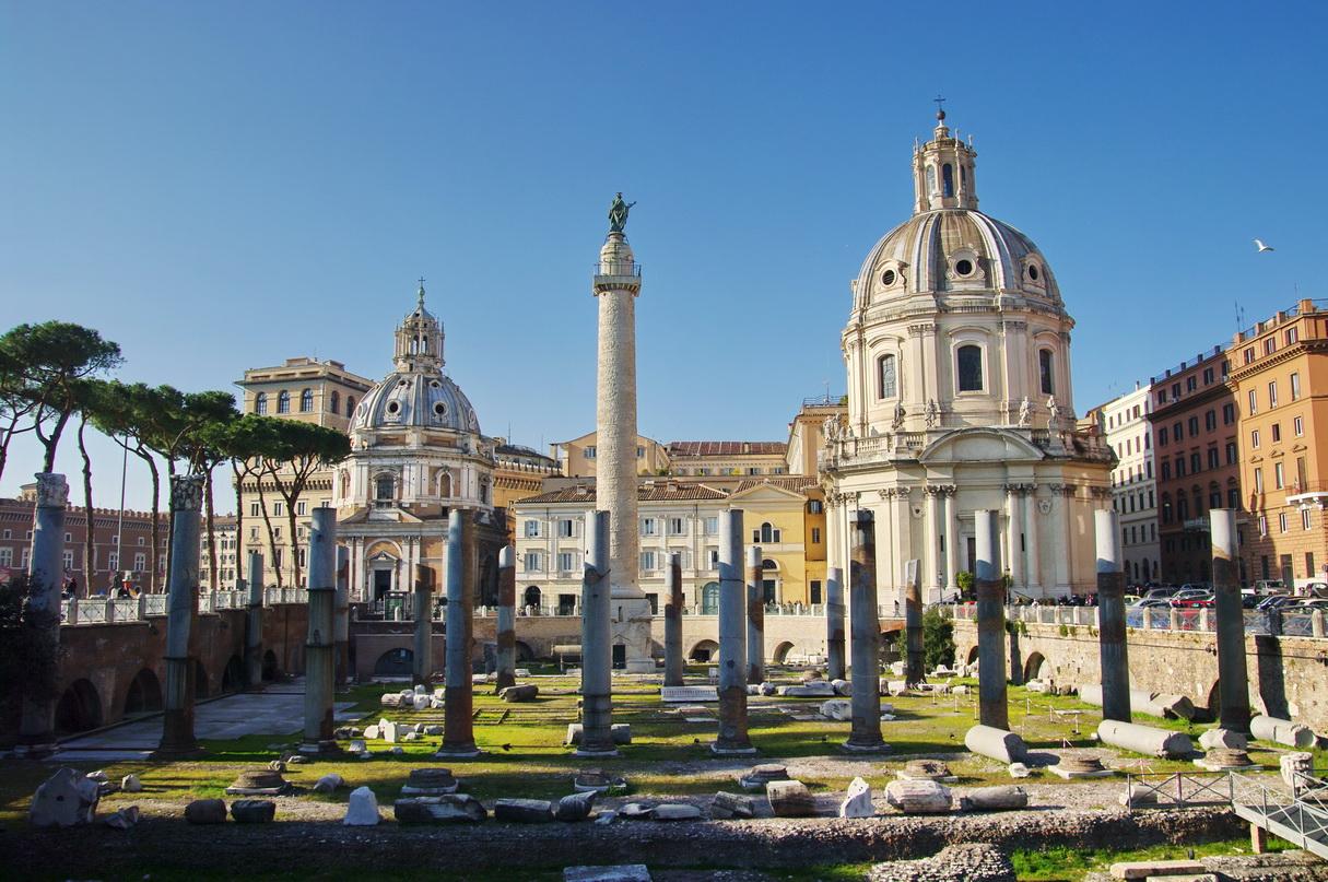 Roma concluye excavaciones del Foro de Trajano - La octava maravilla del mundo 1