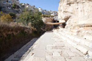 La piscina de Siloé, Jerusalén - Donde Jesús sanó al ciego 2