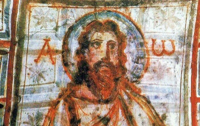 Jesús Catacumbas de Comodila Roma s._IV