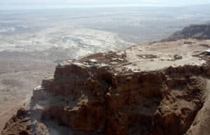 Descubren un papiro con la paga de un soldado romano del siglo I - En Masada, primera Guerra Judía 2