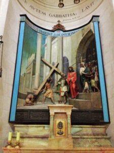 """El """"Litóstrotos"""", lugar donde Jesús fue condenado- Iglesia de la Condenación 1"""