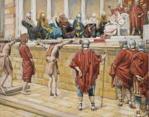 """El """"Litóstrotos"""", lugar donde Jesús fue condenado- Iglesia de la Condenación 3"""