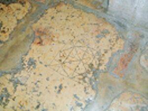 """El """"Litóstrotos"""", lugar donde Jesús fue condenado- Iglesia de la Condenación 2"""