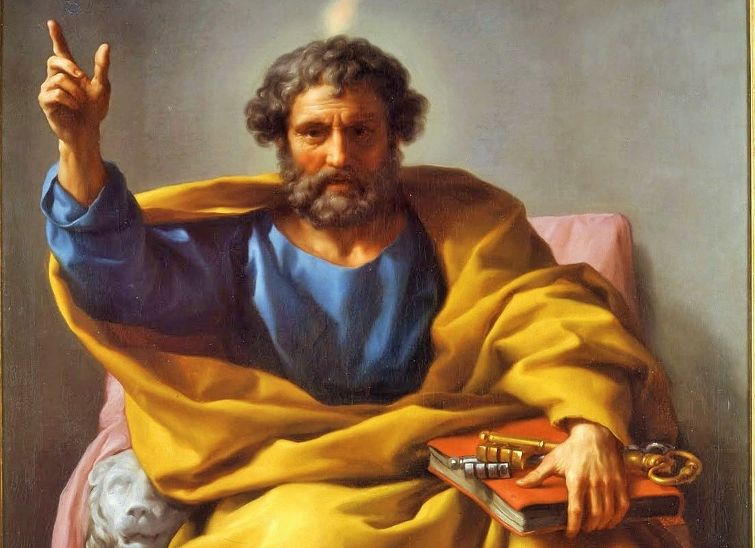 San Pedro fija su sede en Roma como cabeza de la Iglesia - año 42 o 44 1