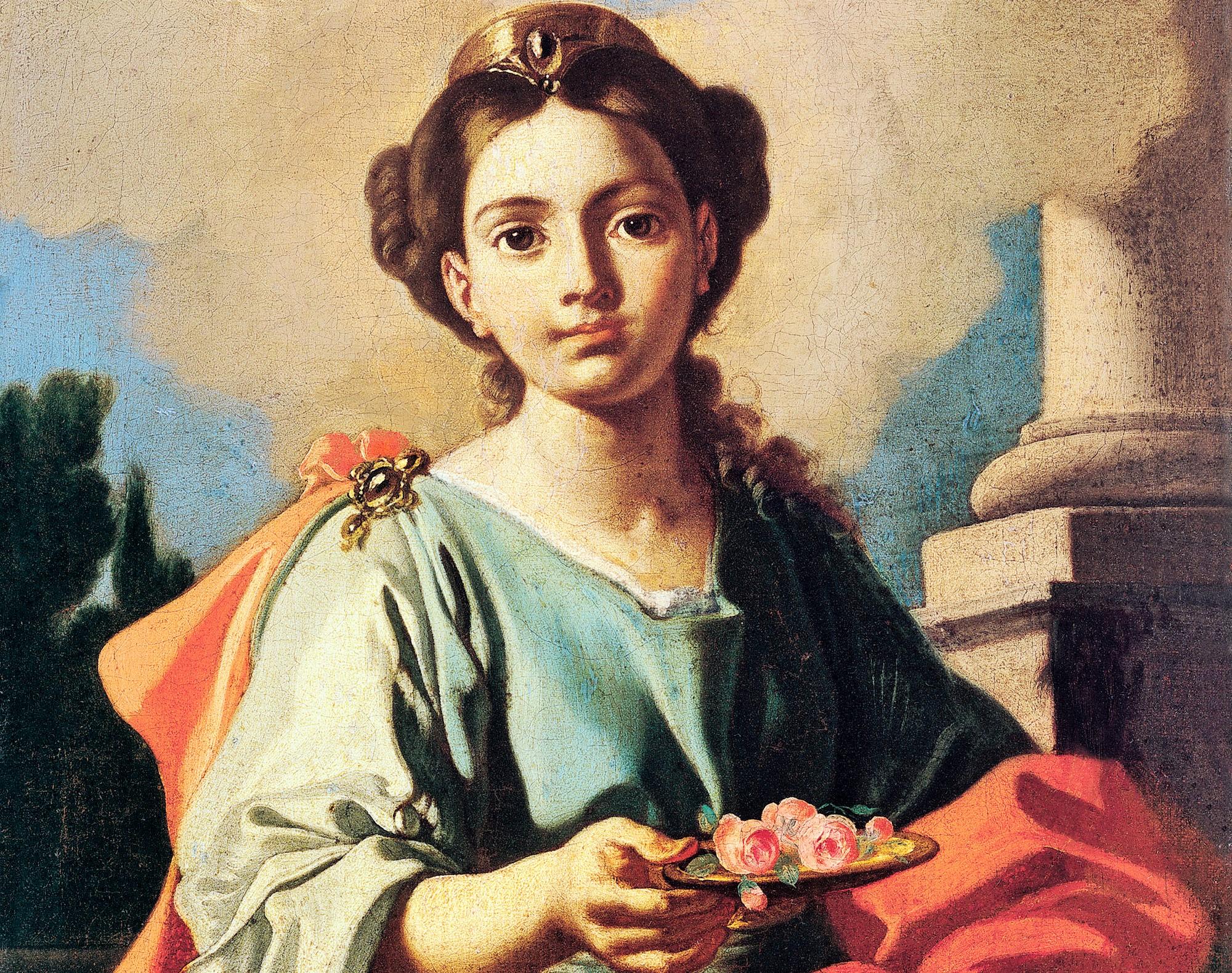 Santa Dorotea, virgen y mártir  -  6  de Febrero 1