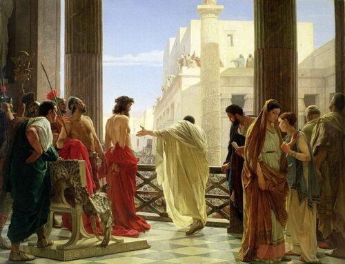 El Litóstrotos, lugar donde Jesucristo fue condenado