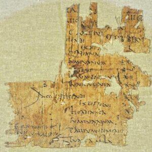 Descubren un papiro con la paga de un soldado romano del siglo I - En Masada, primera Guerra Judía 1