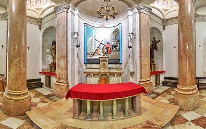 Iglesia de la Condenación o Litostrotos
