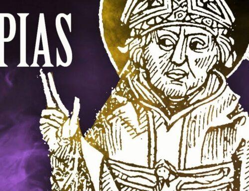 San Papías, obispo de Hierápolis,  siglo I – 22 febrero