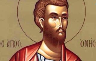 San Onésimo, esclavo discípulo de san Pablo - 16 de febrero 6