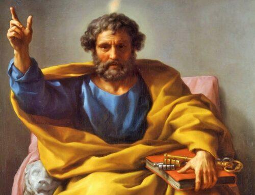 San Pedro fija su sede en Roma como cabeza de la Iglesia – año 42 o 44