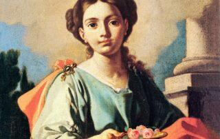 Santa Dorotea, virgen y mártir  -  6  de Febrero 5