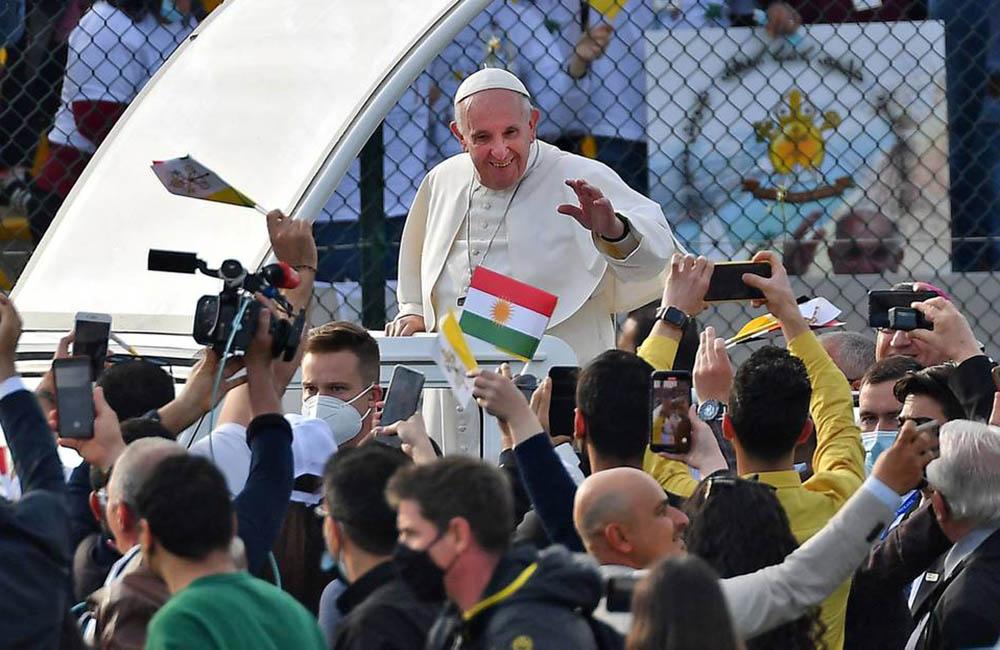 La primera visita de un Papa a Irak en imágenes 1