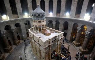 Descubrimientos en el Santo Sepulcro de Jerusalén - la tumba de Jesús 1