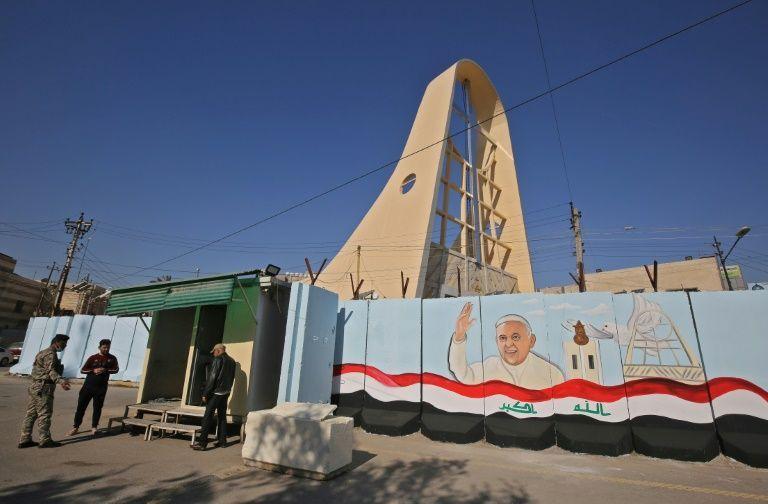 Papa Francisco visita Catedral atacada por Al Qaeda hace 10 años 1